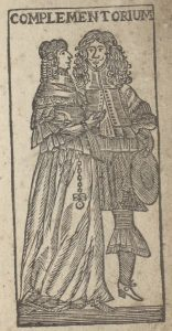 Titelholzschnitt des 'Ethica Complementoria'-Druckes der SUB Hamburg, Signatur : Scrin A/493
